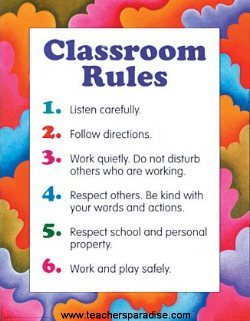 class_rules_poster